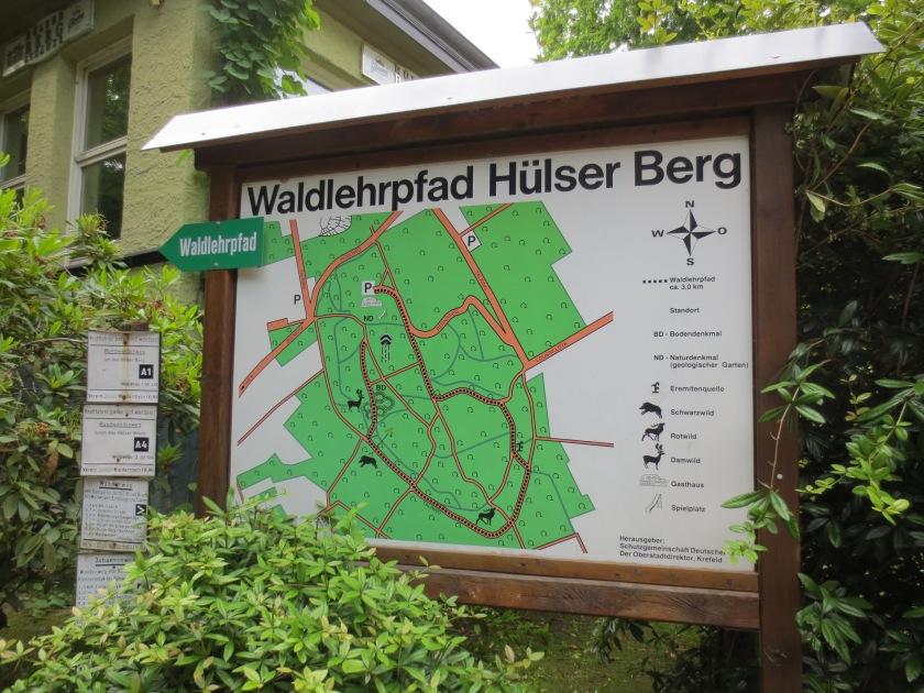 Hülser Berg (Krefeld) – Wildgehege – Johannesturm – WanderBlog